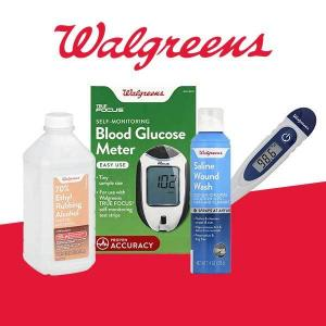 Buy 1, Get 1 50% Off Walgreens Brand Beauty Products