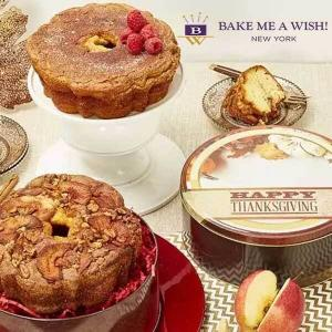 15% Off Birthday Cakes & Cupcakes, & Thanksgiving Pies & Gift Delivery