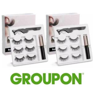 90% Off Magnetic Eyelash & Eyeliner Kit