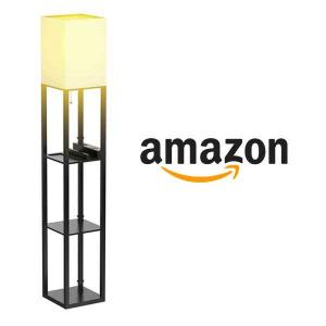 15% Off Floor Lamp With Shelves