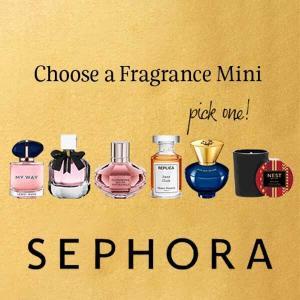 Choose a Fragrance Mini w/ $35 Purchase