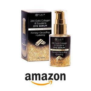 42% Off Clair Beauty 24K Gold, Collagen & Squalene Anti Aging Eye Serum