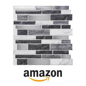 12% Off Art3d 10 Sheet Self-Adhesive Tile Backsplash