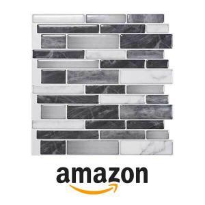12% Off Art3d 10 Sheet Self-Adhesive Tile Backsplash