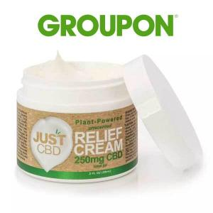 Up to 86% Off JustCBD CBD Pain Relief Cream