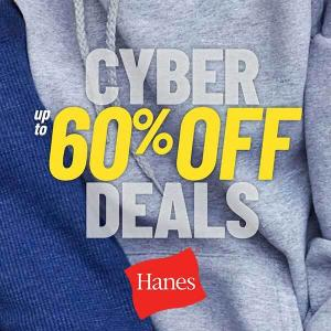 Up to 60% Off With Cyber Week Deals
