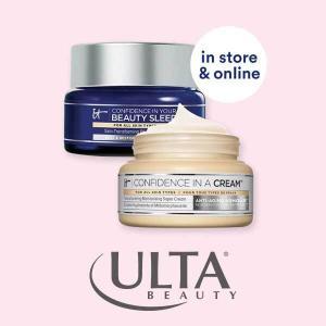 30% Off IT Cosmetics Moisturizers & Eye Cream