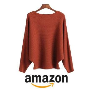 Extra 6% Off Ckikiou Women's Batwing Sleeve Sweater
