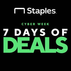 Cyber Week: 7 Days of Deals