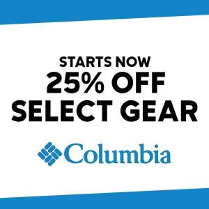 Up to 25% Off Select Gear