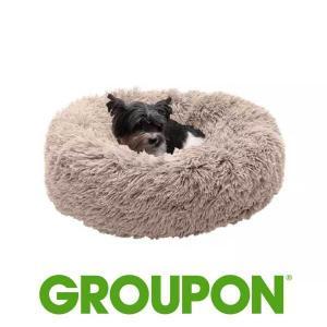 Up to 84% Off FurHaven Calming Cuddler Donut Dog Bed