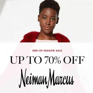 Up to 75% Off End Of Season Sale