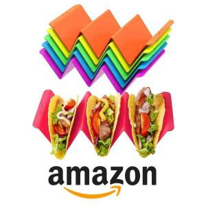 12% Off Colorful Taco Holder Stands Set of 6