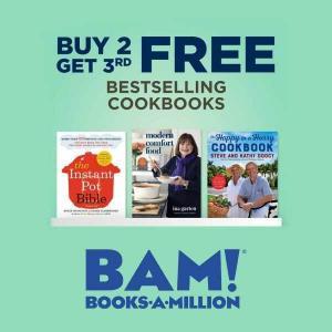 Buy 2 Get 3rd FREE Bestselling Cookbooks