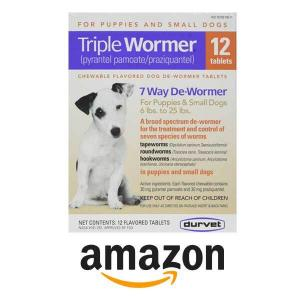 10% Off DURVET 12-Pack Triple Wormer Tablets for Puppies and Small Dogs