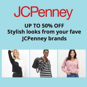 Up to 50% Off Stylish Looks from Fave JCPenney Brands