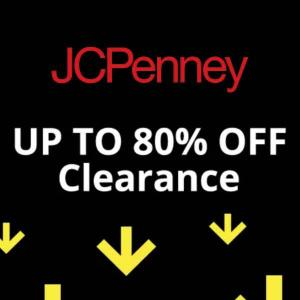 Up to 80% Off Clearance Sale