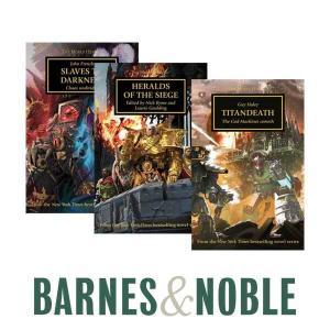 50% Off Select Warhammer & Horus Heresy Books
