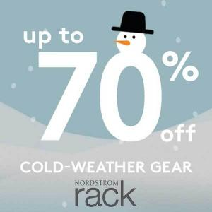 Up to 70% Off Cold Weather Gear
