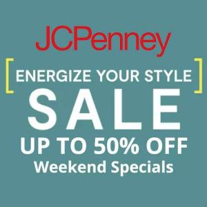 Up to 50% Off Weekend Special Select Styles