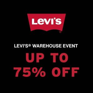 Levi's Warehouse Event: Up to 75% Off Closeout Styles