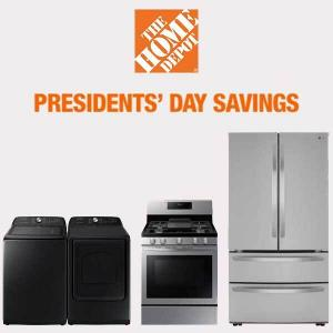 President's Day: Up to 60% Off on Select Appliances