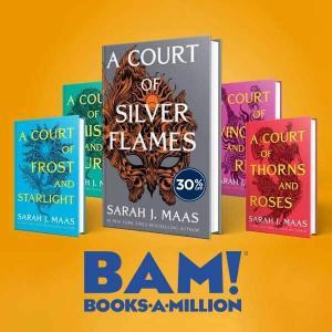 30% Off Featured Author Sarah J. Maas