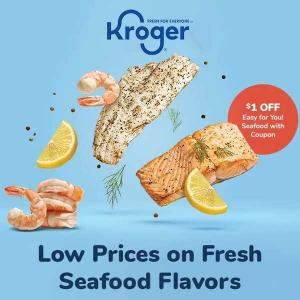 Low Prices on Fresh Seafood Flavors