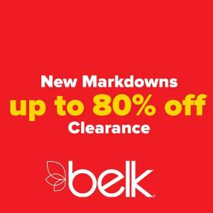 Up to 80% Off in Clearance Sale