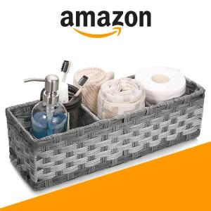 13% Off Toilet Tank Topper Basket