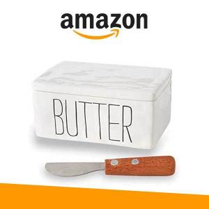 24% off Bistro Butter Dish and Spreader Set