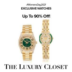 Designer Watches at Up to 90% Off