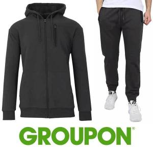 74% Off Men's 2-Piece Slim Fit French Terry Jogger & Hoodie Set