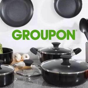 54% Off 15 Pc Nonstick Cookware Set
