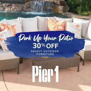 30% Off Select Outdoor Furniture & Decor