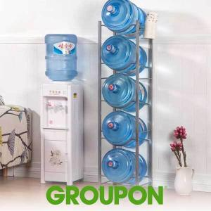 6% Off 3/4/5 Tier Stainless Steel Water Bottle Rack