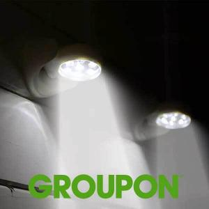 72% Off Cordless Motion Sensor Motion Activated Swivel Lights