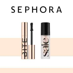 Free Trial-Size Saie or Bite Beauty Free with $25 Purchase