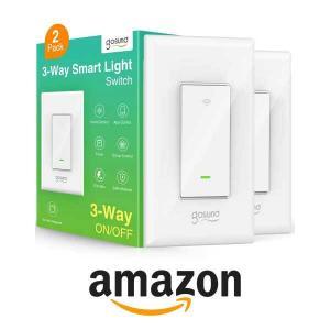 15% Off Gosund 3-Way Light Wi-Fi Switch