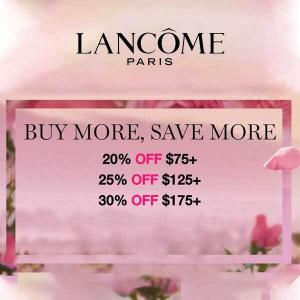 Buy More, Save More: Up to 30% Off 175+