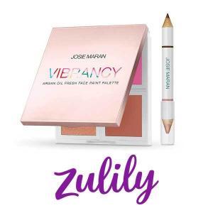 55% Off Vibrancy Argan Oil Fresh Face Paint Palette Set