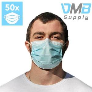 33% Off 50 Pc. Disposable 3-Ply Face Mask