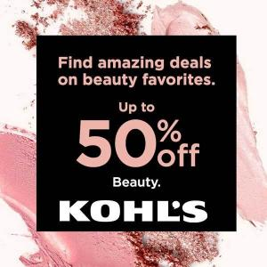 50% Off Beauty & Cosmetics