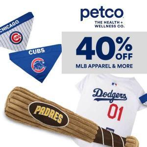 40% Off MLB Apparel & More