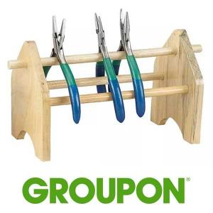 48% Off Wooden Plier Rack and Tool Rack