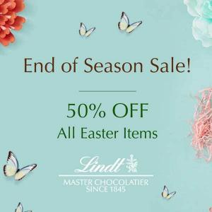 End of Season Sale: 50% Off All Easter Items
