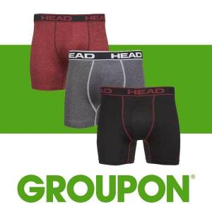 71% Off Head Men's Performance Boxer Briefs (6 Packs)