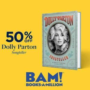50% Off Dolly Parton, Songteller : My Life in Lyrics