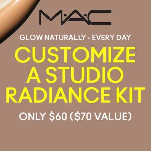 Customize A Studio Radiance Kit for $60 ($70 Value)