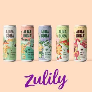Ends 4/20: Up to 20% Off Aura Bora Herbal Sparkling Water